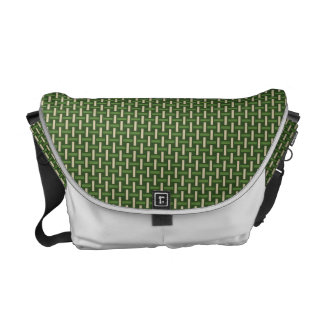 "Minimal Geometric Pattern - Japan ""Bamboo Forest"" Courier Bags"