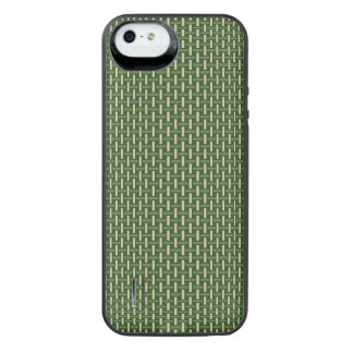 "Minimal Geometric Pattern - Japan ""Bamboo Forest"" iPhone SE/5/5s Battery Case"