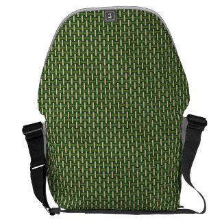 "Minimal Geometric Pattern - Japan ""Bamboo Forest"" Commuter Bags"