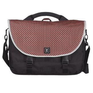 "Minimal Geometric Pattern - Japan ""Cherry Blossom"" Bag For Laptop"