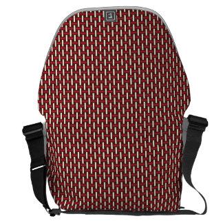 "Minimal Geometric Pattern - Japan ""Cherry Blossom"" Commuter Bags"
