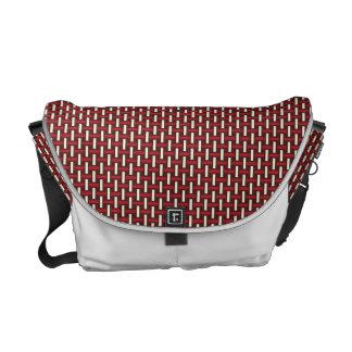 "Minimal Geometric Pattern - Japan ""Cherry Blossom"" Commuter Bag"