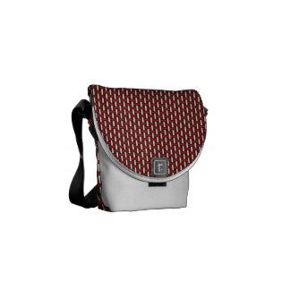 "Minimal Geometric Pattern - Japan ""Cherry Blossom"" Messenger Bags"