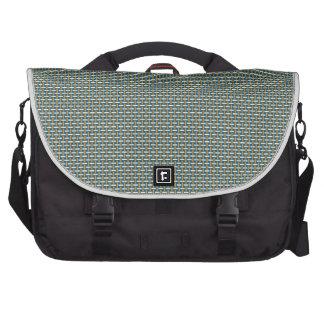 "Minimal Geometric Pattern - Japan ""Hazy Sunshine"" Bags For Laptop"