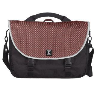 """Minimal Geometric Pattern - Osaka """"Green Pastures"""" Laptop Shoulder Bag"""
