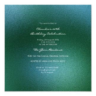 Minimal Glass Tropical Green Contemporary Event Card