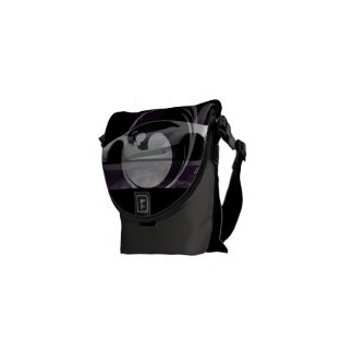 minimal lambo black Lyons design Commuter Bag