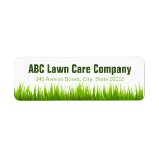 Lawn mowing cards invitations for Lawn care companies