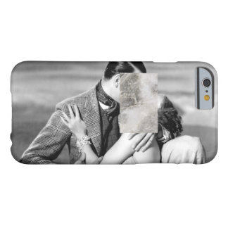 Minimal Love Kissing w/ Marble Print Barely There iPhone 6 Case