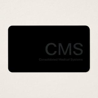Minimal Medical Technology Design Business Card