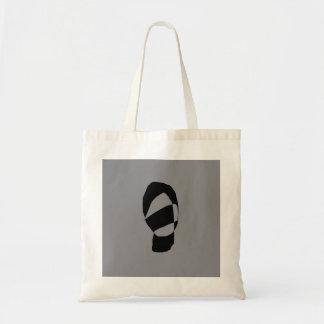 Minimal Monochrome Budget Tote Bag
