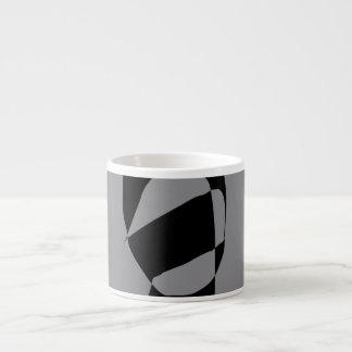 Minimal Monochrome Espresso Mug
