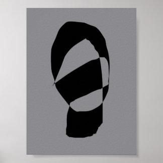Minimal Monochrome Poster