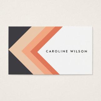 Minimal Orange arrow geometric modern design chic