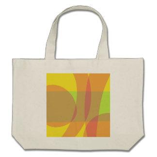 Minimal Orange Yellow Green Bag