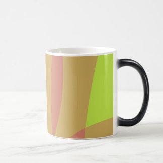Minimal Orange Yellow Green Coffee Mug