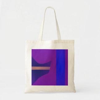 Minimal Purple Space Bag