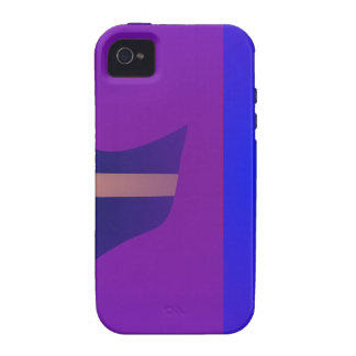 Minimal Purple Space iPhone 4/4S Cover