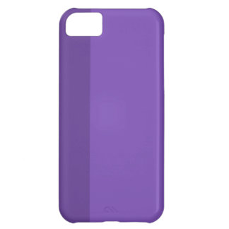 Minimal Purple Stripe iPhone 5 iPhone 5C Case