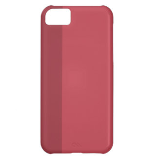 Minimal Red Stripe iPhone 5 iPhone 5C Cover