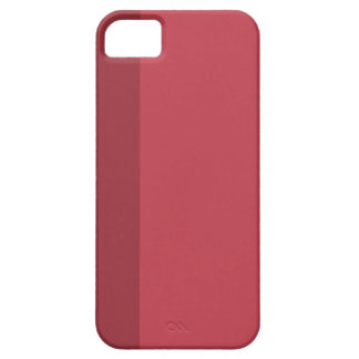 Minimal Red Stripe iPhone 5 iPhone 5 Cover