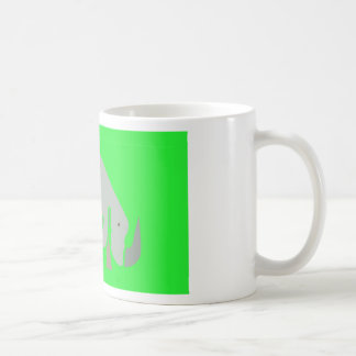 Minimal Rhino Mug