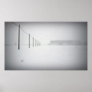 Minimal Snow Poster