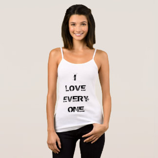Minimal Style Top with I Love Everyone