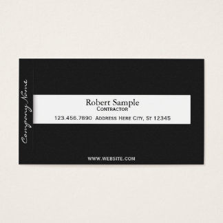 Minimal Tab Business Card