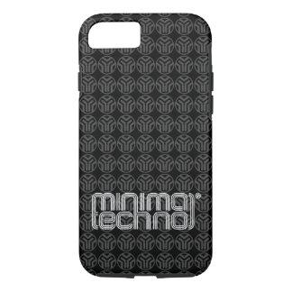 Minimal Techno - Phone Case
