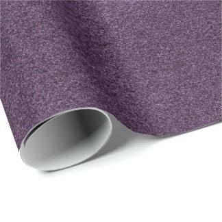 Minimal Ultra Violet Purple Cement Mauve Eggplant Wrapping Paper