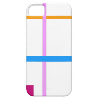 Minimal Vertical and Horizontal Lines iPhone 5 Case