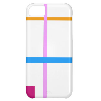 Minimal Vertical and Horizontal Lines iPhone 5C Case
