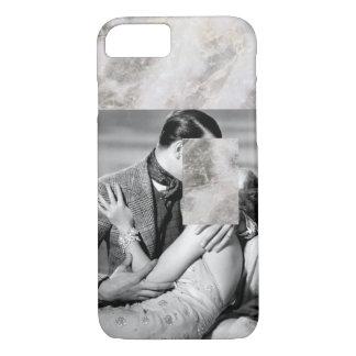 Minimal Vintage Film Black & White Marble iPhone 7 Case
