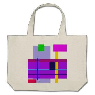 Minimal Violet Bags