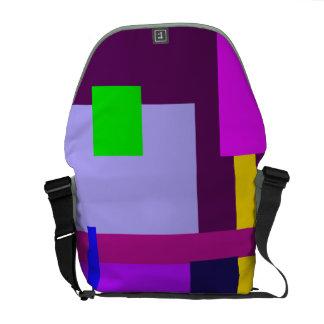 Minimal Violet Byzantium Courier Bags