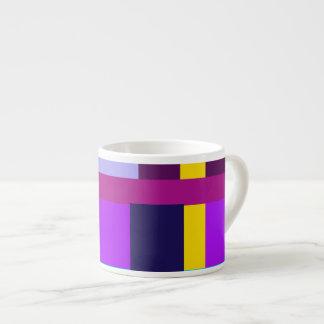 Minimal Violet Byzantium Espresso Mugs
