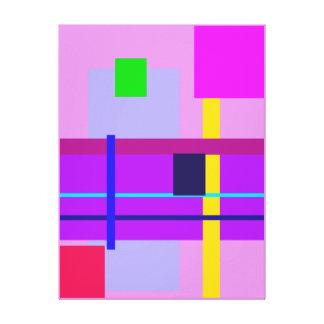 Minimal Violet Canvas Prints