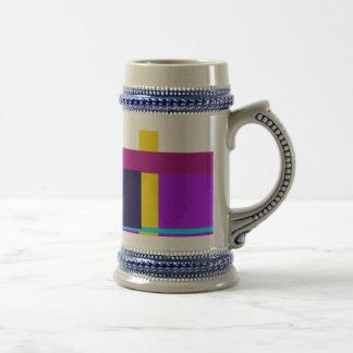 Minimal Violet Beer Steins