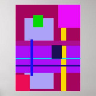 Minimal Violet Poster