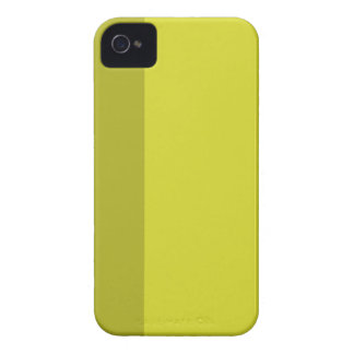 Minimal Yellow Stripe iPhone 4/4S Case-Mate iPhone 4 Cases