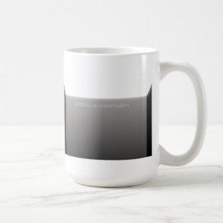 Minimalism Basic White Mug