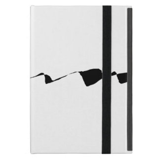 Minimalism - Black and White iPad Mini Cover