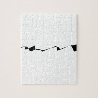 Minimalism - Black and White Jigsaw Puzzle
