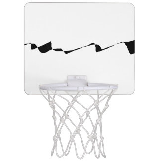 Minimalism - Black and White Mini Basketball Hoop