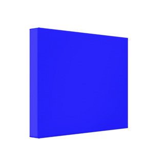 Minimalism Colors Stretched Canvas Print