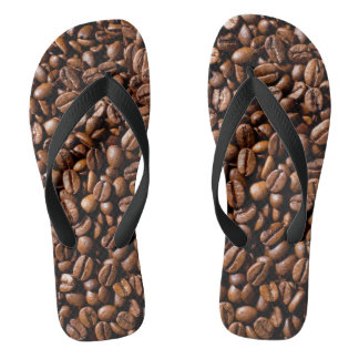 Minimalism Conceptual Coffee Beans Shop Thongs