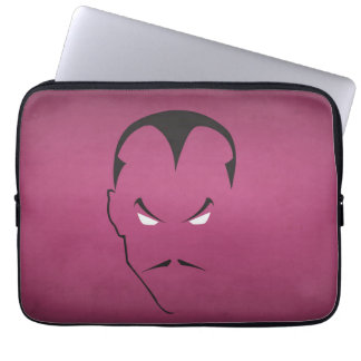 minimalism_face laptop sleeve