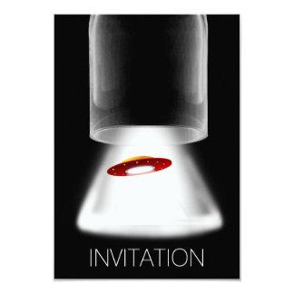 Minimalism Festival Ufo Aliens Vip Invitation