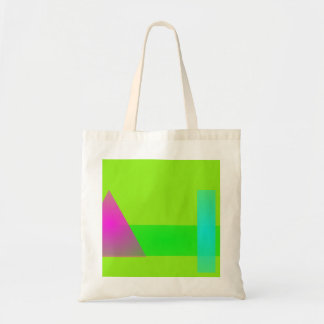 Minimalism Light Green Canvas Bags